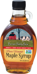 image of a Vermont maple syrup bottle